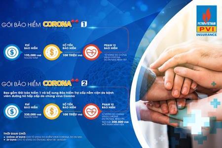 BẢO HIỂM CORONA – COVID -19 – PVI
